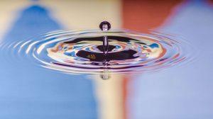 drop-falling-in water